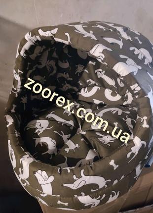 Лукошко 44*43*40 см Домик лежак подстилка для собак и кошек