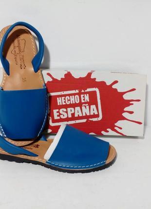 Оригинал. Испанские кожаные Mенорки, Абаркасы ТМ Menorguina.