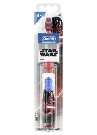 Электрические детская зубная щетка Oral-B от 3 лет