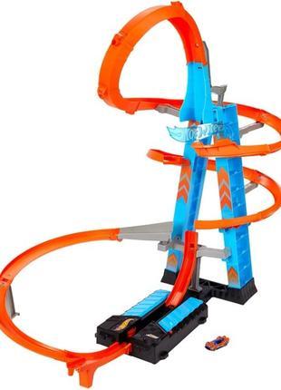 Трек Хот Вилс Небоскреб Hot Wheels Sky Crash Tower. Хмарочос