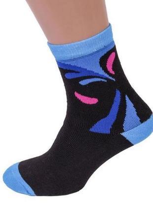 Молодежные высокие носки с принтами