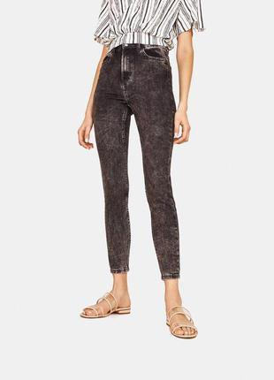 Високая посадка, скинни джинсы варёнки bershka осень-зима 🌿😻