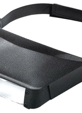 Бинокулярная лупа козырек MG81006 без подсветки