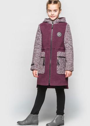 Пальто кашемировое, курточка для девочки подростковая, демисез...