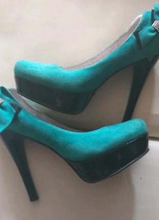 Туфли с удобной колодкой