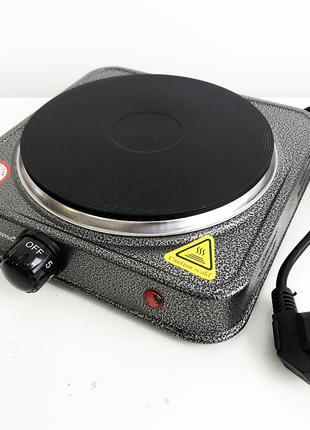 Электроплита Domotec MS-5811 1500W, серая