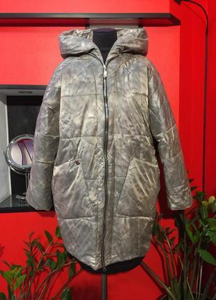 Продам! женская куртка осень-зима! новая! большие размеры!