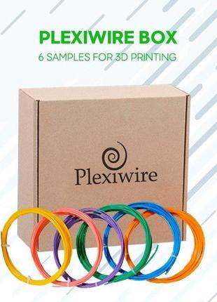 Набір ABS, ABS+, PLA, PETG, NYLON, FLEX пробників від Plexiwire
