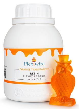 Фотополімерна смола Plexiwire resin basic 0,5кг ORANGE прозора