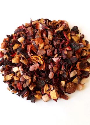 Фруктовый чай Папайя со сливками 50г.