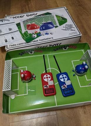 Роботы на радиоуправлении футбол Soccer Bots