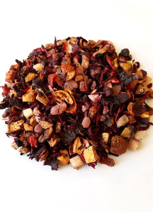 Фруктовый чай Папайя со сливками 100г.