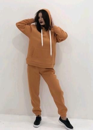 Теплий спортивний костюм на флісі