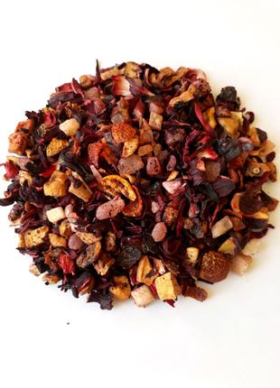 Фруктовый чай Папайя со сливками 500г.