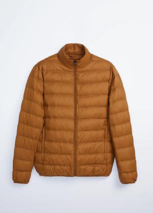 Ультралегкая куртка пуховик zara