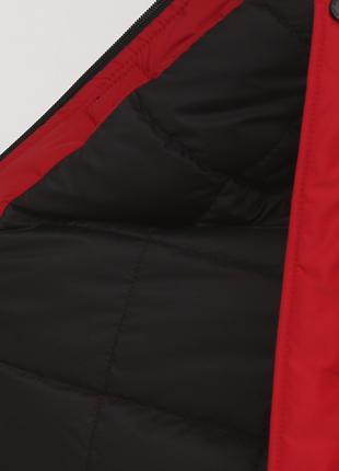 Зимняя мужская красная куртка
