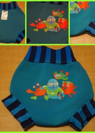 Zoggs подгузник для купания ( плавки , гидрокостюм )6-12 мес п...