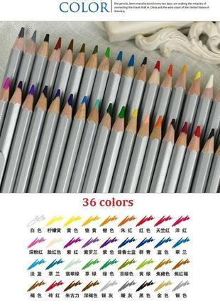 Цветные карандаши Marco Raffine 36 цветов