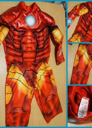 Avengers карнавальный костюм железный человек 2-4 года карнава...