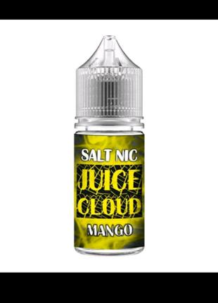 """Солевая жидкость для вейпа"""" Juice Cloud"""" 30ml Манго"""