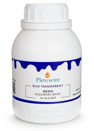 Фотополімерна смола Plexiwire Resin Basic 0,5кг BLUE прозора