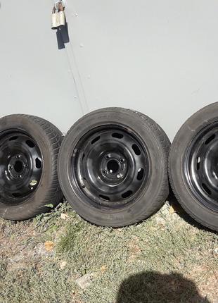 Комплект шины диски 4х108 R15 R14