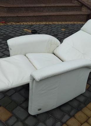 Himolla, реклайнер кожа, крісло відпочинкове натуральна шкіра