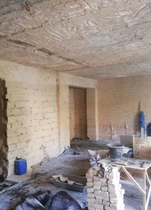 Демонтаж. В жилых и нежилых помещениях. Вывоз строительного мусор