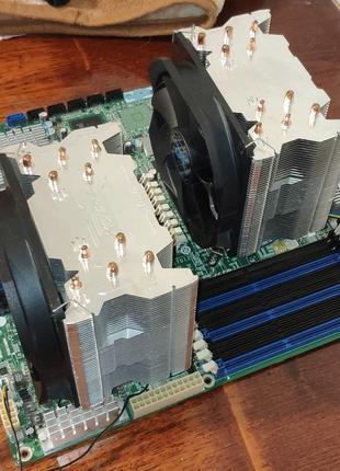 Мощный серверный комплект, рабочая станция, 24 потока.