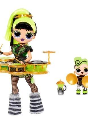 Кукла LOL OMG Remix Bad Gurl зеленая кукла ЛОЛ Ремикс с большо...