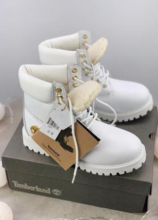 Ботинки женские зимние timberland , натуральная кожа, мех