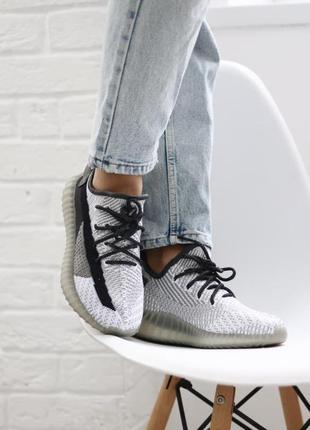 Adidas yeezy boost 350 black white🆕шикарные кроссовки адидас🆕к...
