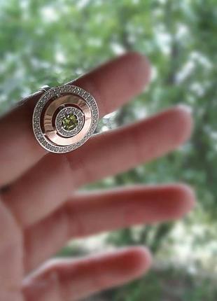 Кольцо и серьги, комплект