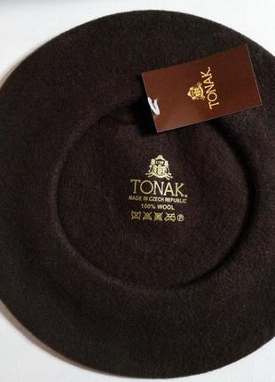 Берет фетровый чешской фирмы tonak
