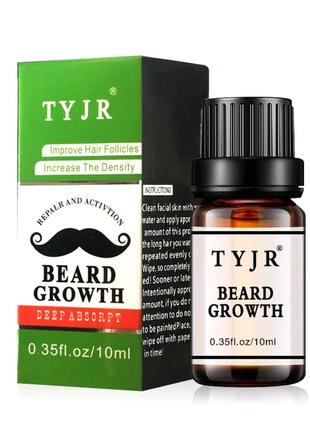 Натуральна ароматизована олія для росту бороди