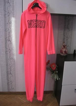 Самый модный неоновый яркий комбинезон nero спортивный костюм с