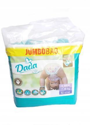 Акція 310грн!!! Jumboox DADA Extra Soft (4 maxi)