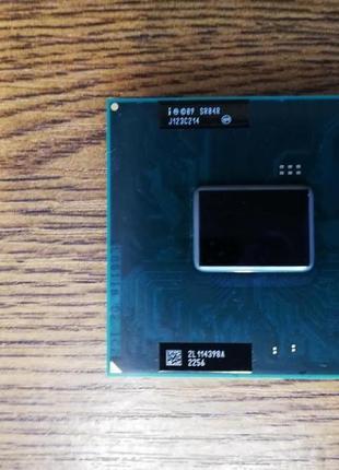 Процесор Intel Core i3-2310M 3M 2,1GHz SR04R G2/rPGA988B