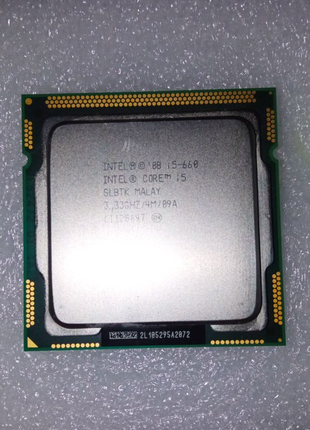 Процессор Intel Core i5 660 (2C/4T) s1156
