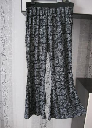 Самые модные летние брюки клеш палаццо 14-16