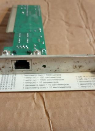 Сетевая карта PCI / RJ 45 ML 8512 100 Мбит.