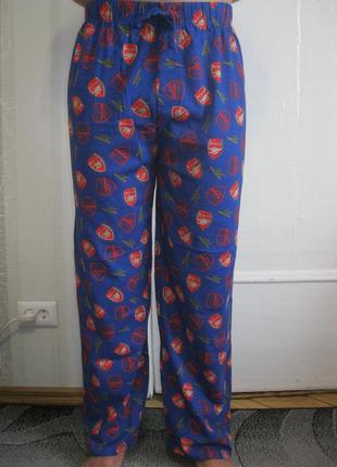 Новые хлопковые домашние пижамные штаны брюки пижама арсенал л