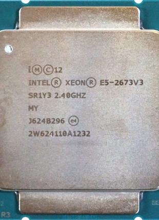 Intel® Xeon® E5-2673V3 (12C/24T, 30M Cache 3.1GHz LGA2011-3 105W)