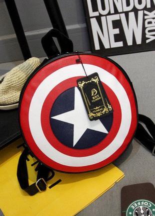 Рюкзак-щит,  Капитан Америка , малый
