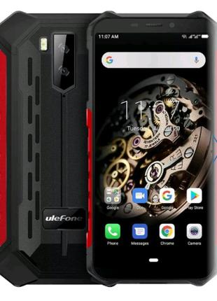 Мобільний телефон Ulefone Armor X5 3/32GB Black-Red