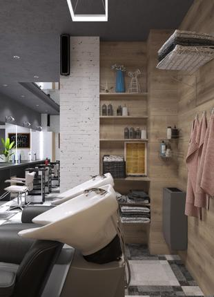 Сдам рабочее место парикмахеру в салоне красоты в центре г. Киева