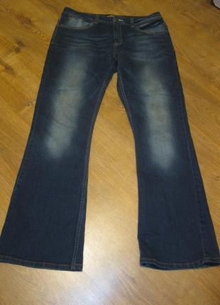 Из последней коллекции джинсы клёш bootcut 42 / 14 / xl наш 48