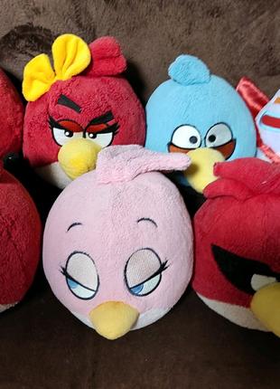 Мягкие игрушки Weber Toys Angry Birds
