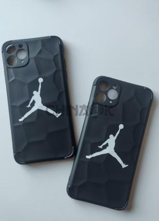 Чехол Air Jordan Nike Черный для Iphone 11 Pro Max