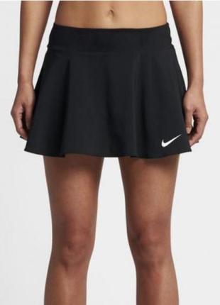 Спортивна юбка шорти nike dri-fit, розмір м